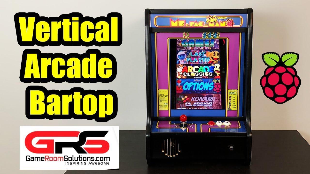 Raspberry Pi Powered Vertical Bartop Arcade The Nincade Youtube