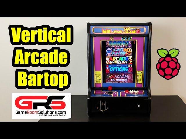 Raspberry Pi Powered Vertical BarTop Arcade - The NinCade
