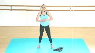 1st Trimester Cardio and Strength Workout | Pregnancy Exercise | Jane Wake