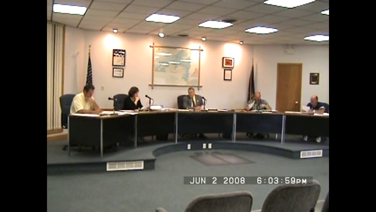 Rouses Point Village Board Meeting  6-2-08