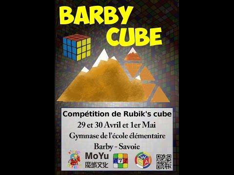 Barby Cube 2017 ! La compétition de l'association Savoyarde !