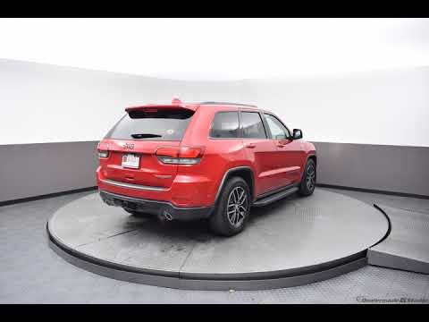 2017 Red Jeep Grand Cherokee 4D Sport Utility #N6334A