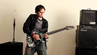 Steve Vai Style(Quick Licks) - Andy James cover by Richo Bermu
