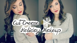 Cut Crease Holiday Makeup Look | Kenzie Garrett Thumbnail