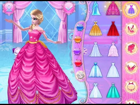 Best Games For Kids Ice Princess Fun Colors Play Dress