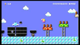 Lovely Whales by Adell ~ SUPER MARIO MAKER ~ NO COMMENTARY
