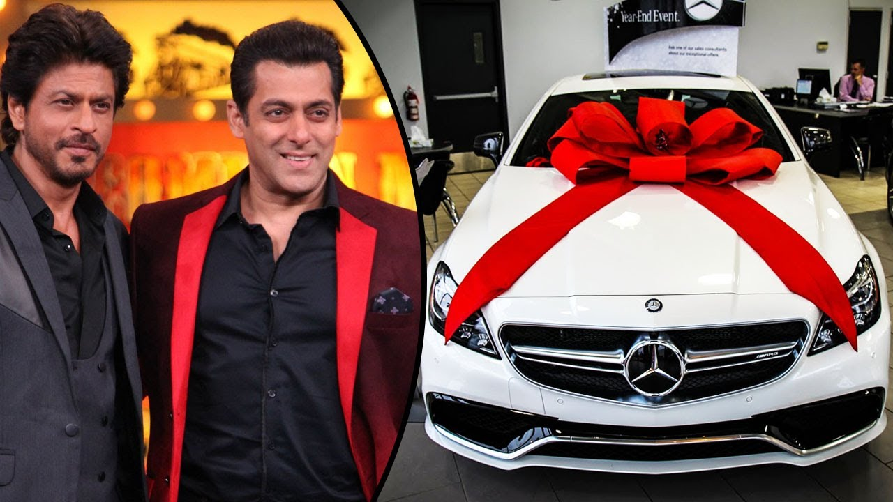 Shahrukh Khan Gifts A Luxury Car To Salman Khan For Cameo In Aanand
