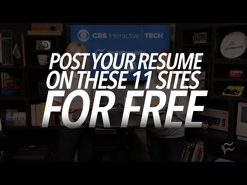 Job seekers: Post your resume on these 11 sites for free