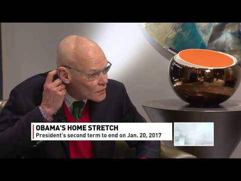 James Carville, renowned U.S. political strategist, on The Exchange with Amanda Lang