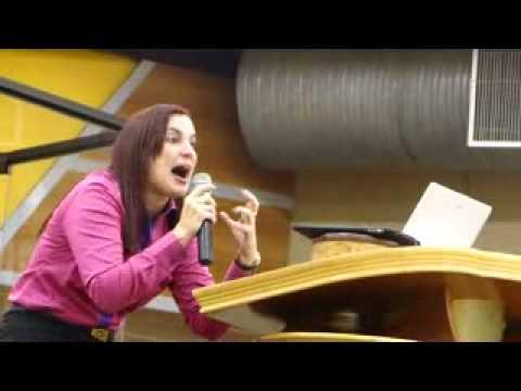 Pastora Ana Paula Guedes - Apascentar - Destronando Tronos Escondidos (PARTE)