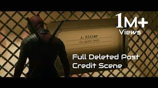 Deadpool kills Baby Hitler-Deleted Scene|Deadpool 2