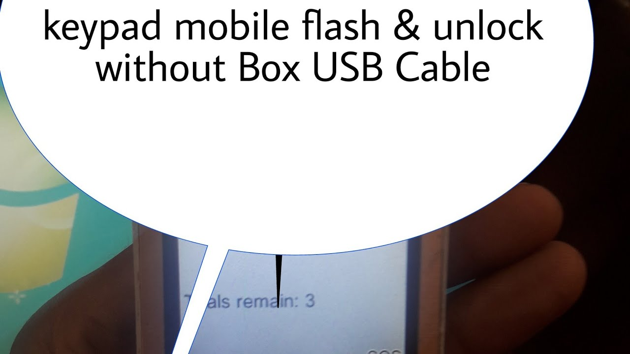Keypad Mobile Unlock & flash Without Box Usb Cable