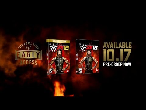 WWE 2K18 BE LIKE NO ONE OFFICIAL TRAILER - Deluxe Edition & Play Early on PS4 & Xbox One
