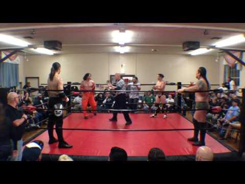 Brian Kendrick vs Paul london vs Tyler bateman vs Che-cabrera 4/25/15.