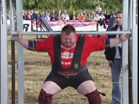 World  Strongmen Cup in Armagh City - Ireland. Svend Karlsen Vs Glenn Ross.