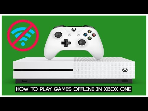 How to play games on xbox one without internet