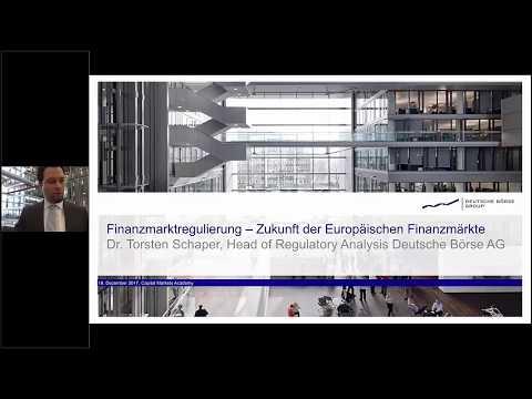 Webinar: Finanzmarktregulierung – Zukunft der europäischen Finanzmärkte