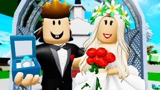 အရာရှိ Roofus အိမ်ထောင်ပြု! Roblox ရုပ်ရှင် (Brookhaven RP)