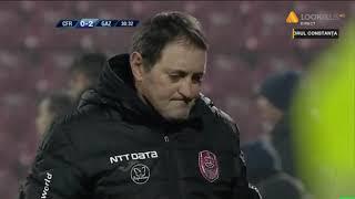 CFR - Gaz Metan: Ivanov marcheaza superb pentru 0-2 Liga 1