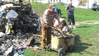 Dni złomu w Lublinie. Akcja artystyczna