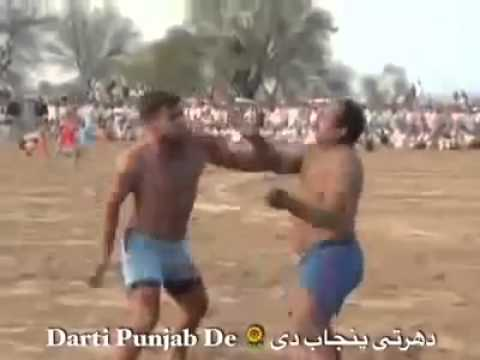 Indian Slapping Sport