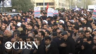 Thousands mourn top Iranian military commander killed in U.S. airstrike