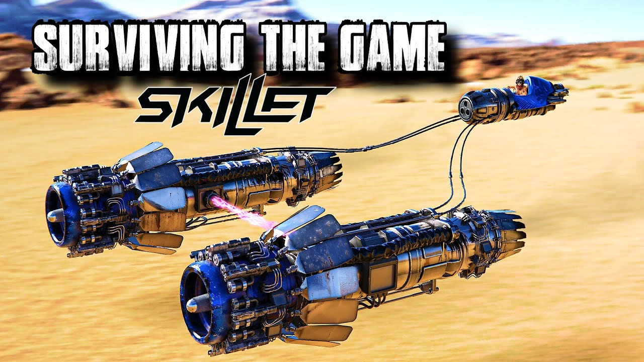 SKILLET - Surviving the Game •  Star Wars Racing Edition