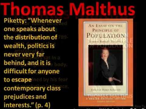 Malthus according to Piketty, Rey Ty 2015
