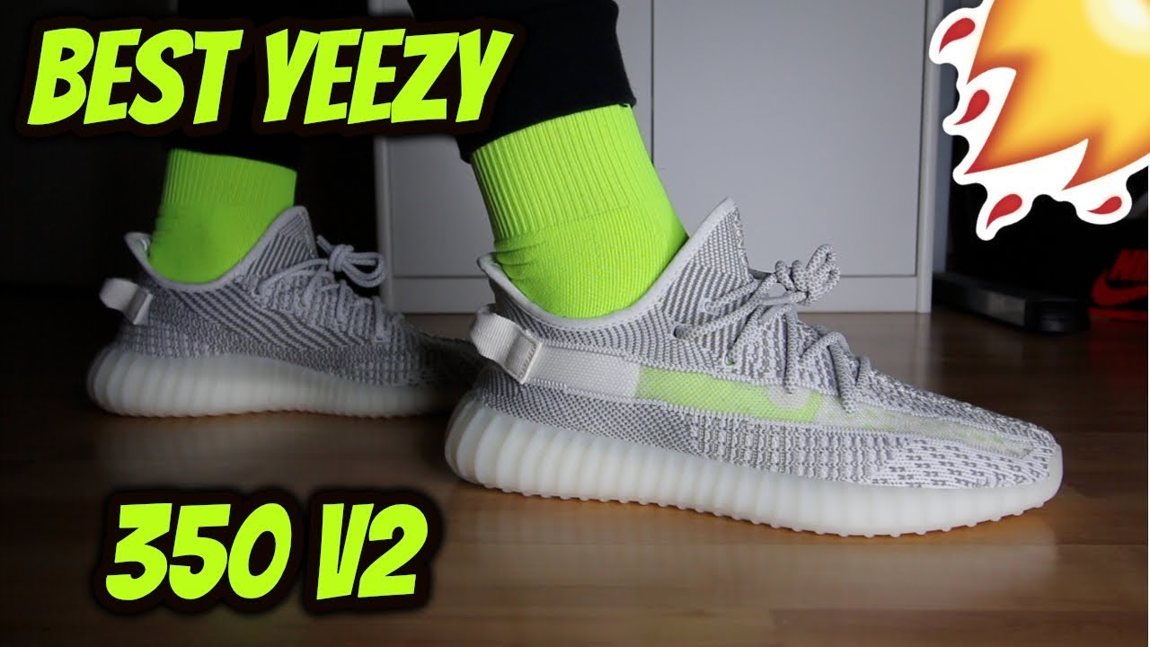 e395f19dc5c Adidas Yeezy Boost 350 V2  Static  Review On Feet - YouTube