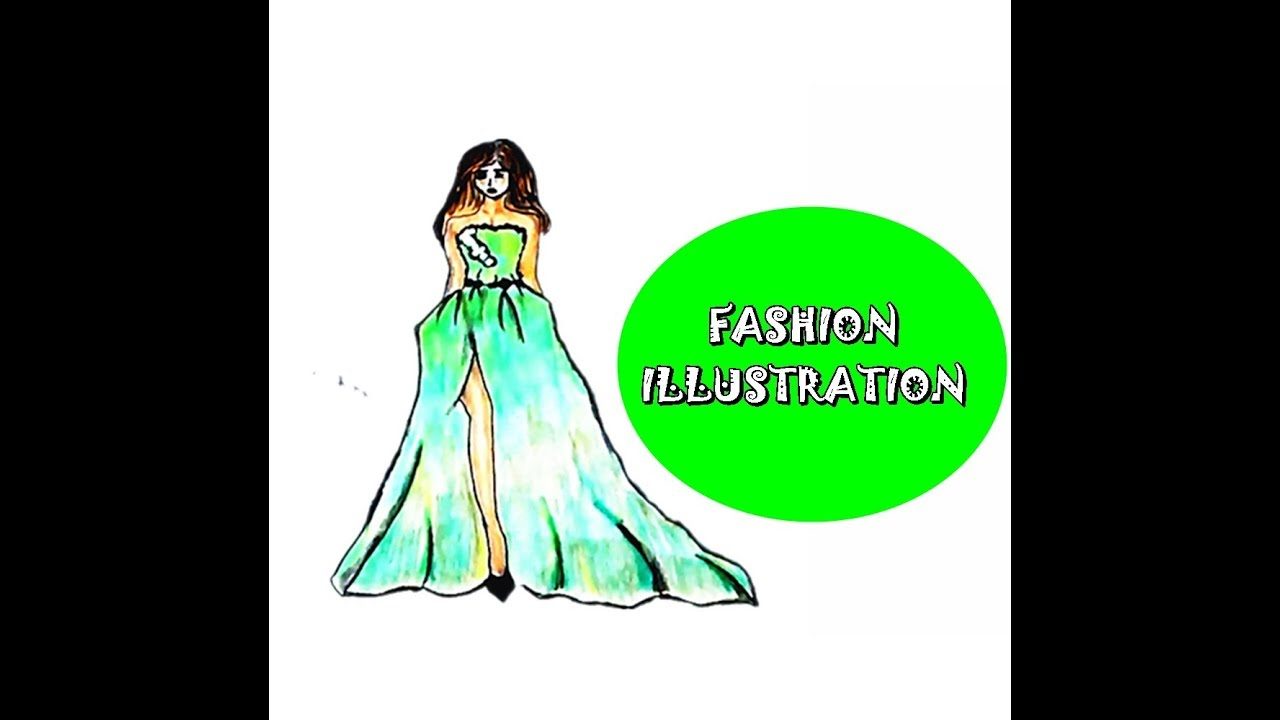 Sketsa dress simple style