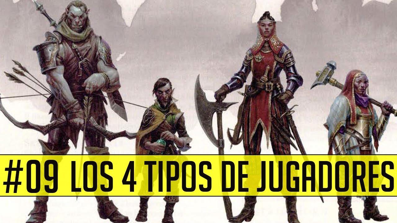 Los 4 tipos de jugadores | ¿Cómo diseñar para ellos? #DungeonsAndDragonsParaTontos
