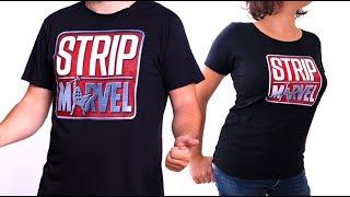 ¡Ya están aquí las CAMISETAS de Strip Marvel!