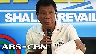 Bandila: Duterte shows bank certification on dollar account