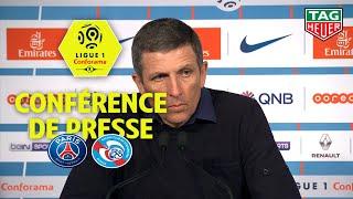 Conférence de presse Paris Saint-Germain - RC Strasbourg Alsace (2-2 ) / 2018-19
