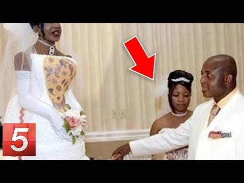 10 Wedding Photos You Won't Believe Actually Exist!