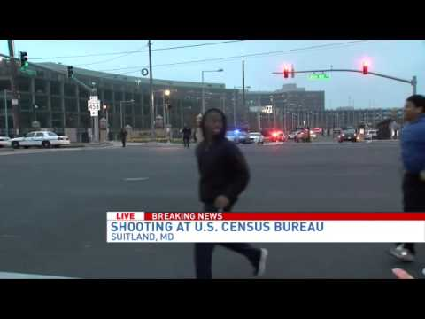 Guard shot & wounded at Census Bureau Headquarters in Suitland