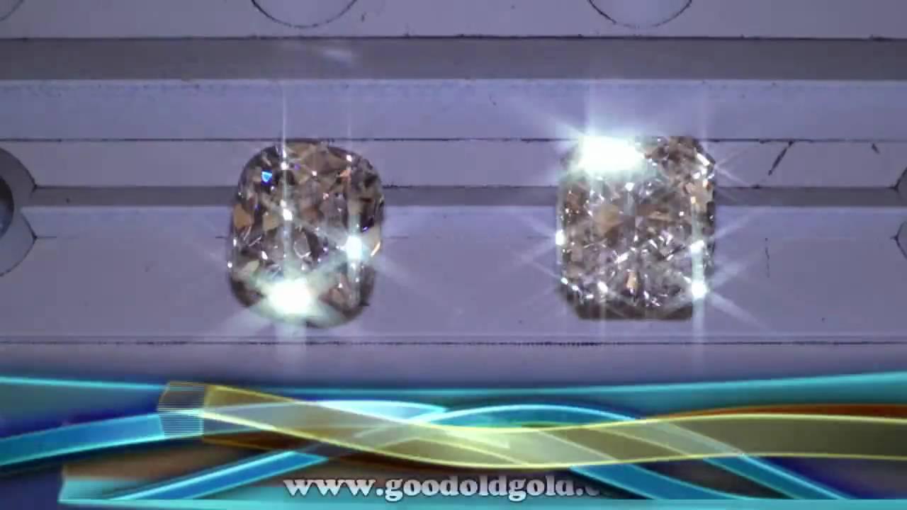 Chunky Cushion Diamond Vs Radiant Cut Diamond Youtube