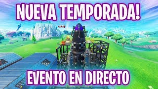 🔵 EVENTO TEMPORADA 11 EN DIRECTO! Fortnite Battle Royale 🔵 - Luzu