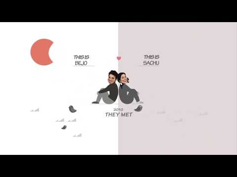 Save The Date | Motion Graphics | After Effects | By Akhil Jose