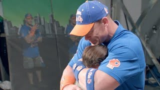 John Cena Moved to Tears By a Surprise Meeting with Fans | What's Trending Now!