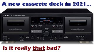 New TEAC W-1200 cassette deck - Is it really THAT bad?