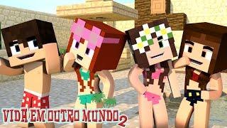 Minecraft: DIA DE PRAIA!! | VIDA EM OUTRO MUNDO 2  #1
