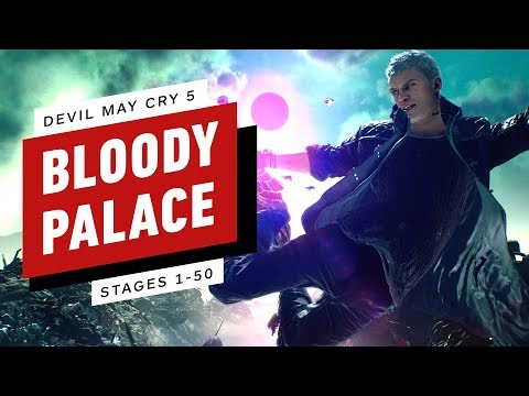 Devil May Cry 5 - Nero's Bloody Palace - Stages 1-50 thumbnail