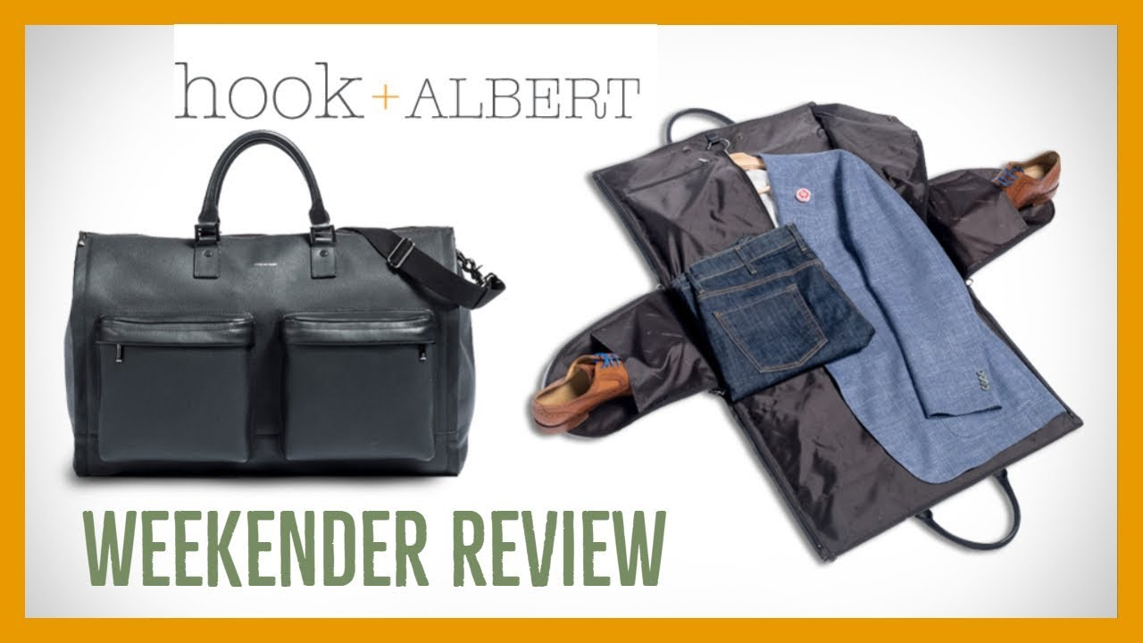 Hook and Albert Weekender Review - YouTube c7b12a85ce950