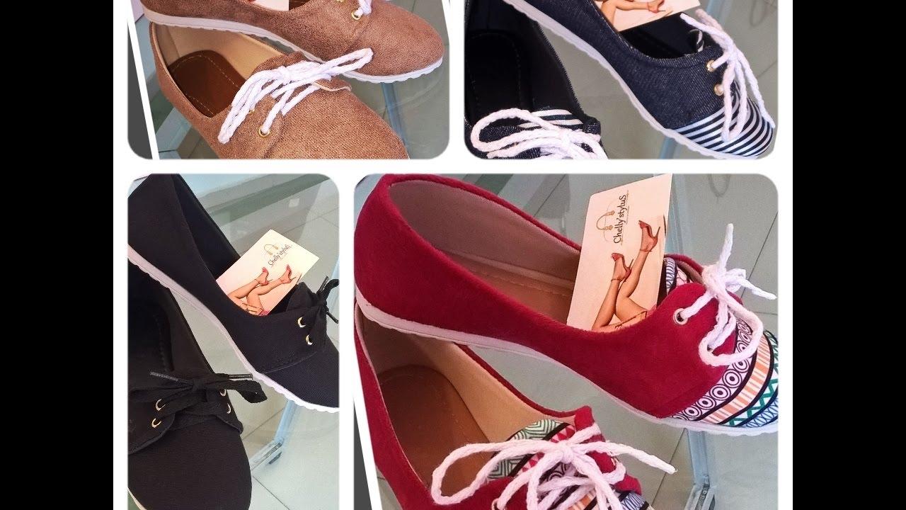 38fd64ec6 Sapatos femininos Atacado e Varejo - Coleção Outono/Inverno - YouTube