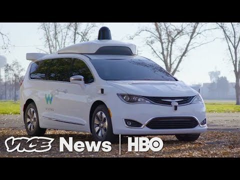 Take A Drive In Google's Newest Self-Driving Car: VICE News Tonight on HBO