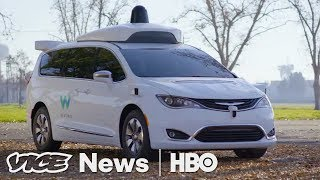 Self Driving Car - We Drove In Google's Newest Self-Driving Car (HBO)