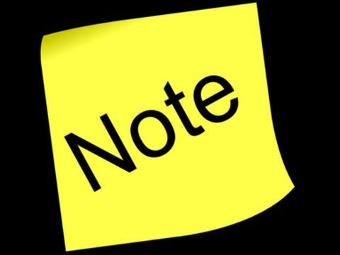 Hướng dẫn tạo ghi chú (note) trong Outlook 2007