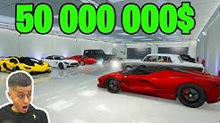 LE GARAGE LE PLUS CHER DE GTA 5 ! (Lambo,Ferrari,...)