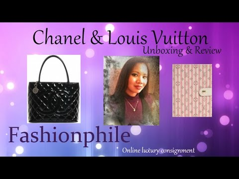 Chanel and Louis Vuitton Fashionphile .com first impression unboxing & review